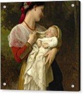 Maternal Admiration Acrylic Print