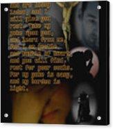 Matthew 11 28 Acrylic Print