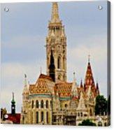 Matthias Church - Budapest Acrylic Print
