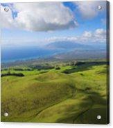 Maui Aerial Acrylic Print