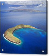 Maui, View Of Islands Acrylic Print