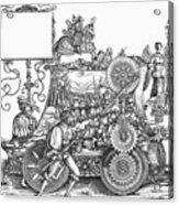 Maximilian I 1459-1519 Acrylic Print