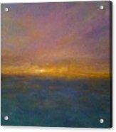 Mayflower Beach Sunset Acrylic Print