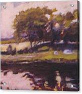 Mayo Landscape Acrylic Print