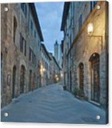 Medieval Street Acrylic Print by Rob Tilley