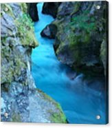 Meltwater Acrylic Print