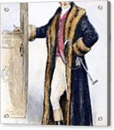 Mens Fashion, 1894 Acrylic Print