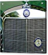 Mercedes Benz Hood Ornament Acrylic Print