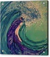 Mermaid Wave Acrylic Print