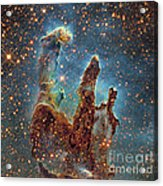Messier 16, The Eagle Nebula In Serpens Acrylic Print