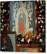 Mexico Our Lady Of Guadalupe Pilgrimage Acrylic Print