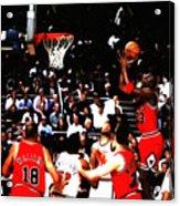 Michael Jordan Soft Touch Acrylic Print