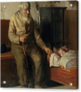 Michael Peter Ancher Acrylic Print