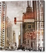 Michigan Ave - Chicago  Acrylic Print