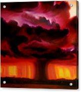 Microburst Acrylic Print