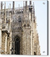 Milan Cathedra, Domm De Milan Is The Cathedral Church, Italy Acrylic Print