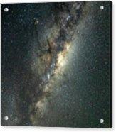 Milky Way With Mars Acrylic Print