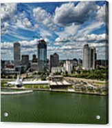 Milwaukee Wisconsin Acrylic Print