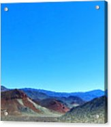 Mineral Mountains Acrylic Print