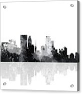Minneapolis Minnesota Skyline Acrylic Print
