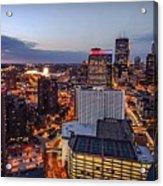 Minneapolis Nights Acrylic Print