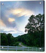 Minnesota Valley Sunset Acrylic Print