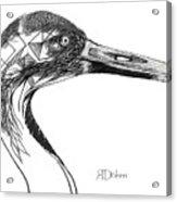 Miracle Bird Acrylic Print