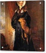 Miss Mary Kirkpatrick Brunton Acrylic Print