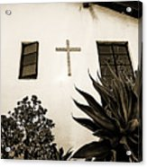 Mission Cross Acrylic Print