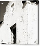 Mission Stucco Building Acrylic Print