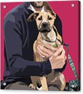 Mixed-breed Puppy Acrylic Print