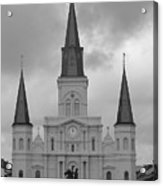 Model Church Acrylic Print