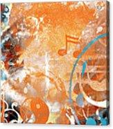 Modern Art Beyond Control Acrylic Print