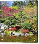 Momiji Gardens Acrylic Print