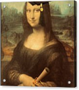 Mona Lisa  Graduation Day Acrylic Print