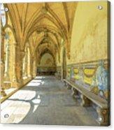 Monastery Of Santa Cruz Acrylic Print