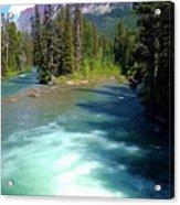 Montana River Acrylic Print
