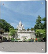Montmarte Paris Sacre-coeur Acrylic Print
