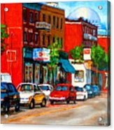 Montreal Paintings Acrylic Print