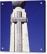 Monumento Al Divino Salvador Del Mundo Acrylic Print