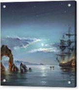 Moonlight Night Acrylic Print