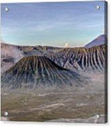 morning light Mount Bromo - Java Acrylic Print