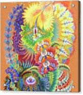 Morning Sunny Wave Acrylic Print