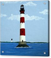 Morris Island Light Acrylic Print