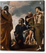Moses And The Messengers From Canaan Acrylic Print