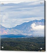 Mosquito Range Mountains In Storm Clouds Acrylic Print