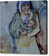 Mother's Love Acrylic Print