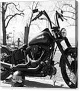 Motorbike Acrylic Print