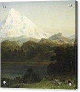 Mount Hood In Oregon Acrylic Print