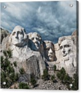 Mount Rushmore II Acrylic Print